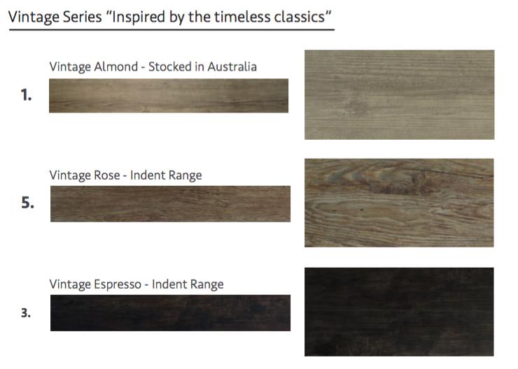 Vintage Series - Acoustic Loose Lay
